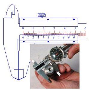 Hướng dẫn sử dụng thước kẹp và cách đọc thước kẹp, thước cặp - Cokhithanhduy