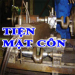 Phương pháp gia công Tiện bề mặt côn – Gia công mặt côn trên máy tiện vạn năng