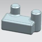 Hướng dẫn thiết kế 3D phần mềm Unigraphics NX11 với Blend và chamfer – Tuyệt chiêu thứ 33