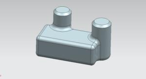 Hướng dẫn thiết kế 3D phần mềm Unigraphics NX11 với Blend và chamfer - Tuyệt chiêu thứ 33