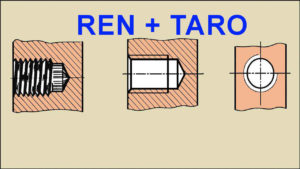 Ký hiệu và Phân loại Ren trong lắp ghép - Tổng hợp các phương pháp Taro Ren hiệu quả nhất