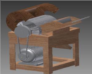 Hướng dẫn ý tưởng và lập quy trình thiết kế máy tạo sợi  - Bản quyền Cao Thanh Duy