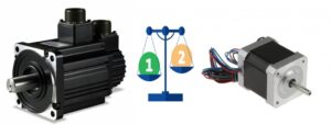 So sánh động cơ step và động cơ servo